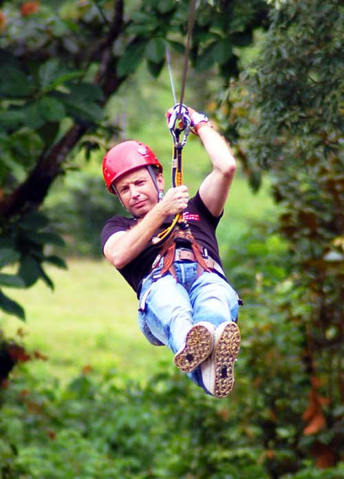 Canopy por los bosques de Costa Rica/ Foto María Jesús Tomé