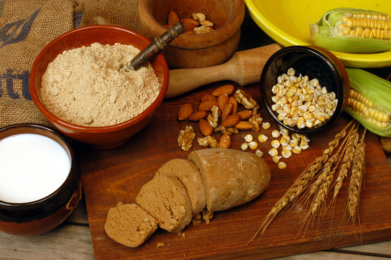 El gofio es uno de los alimentos más típicos de la gastronomía gomera