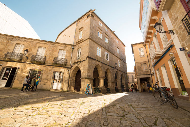 Centro histórico de Noia