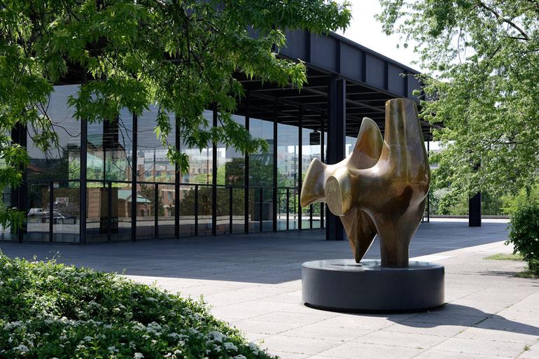 Neue Nationalgalerie © Wolfgang Scholvien