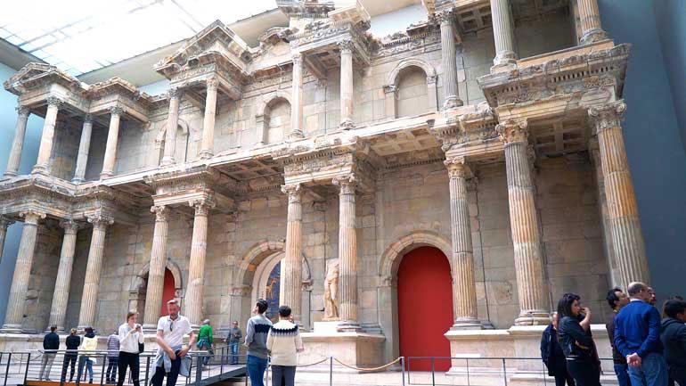 Puerta del Mercado Romano de Mileto