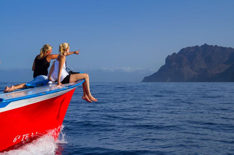 Excursión para observar los cetáceos