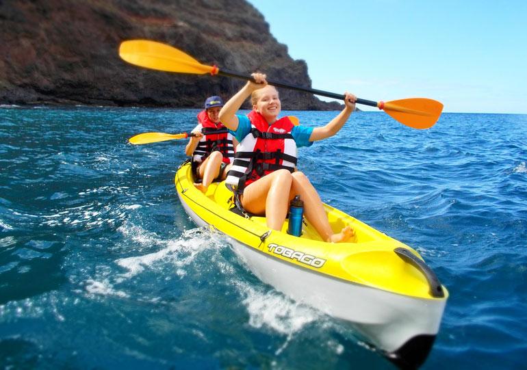 Kayak por La Gomera