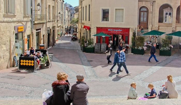 Centro histórico de Montpellier