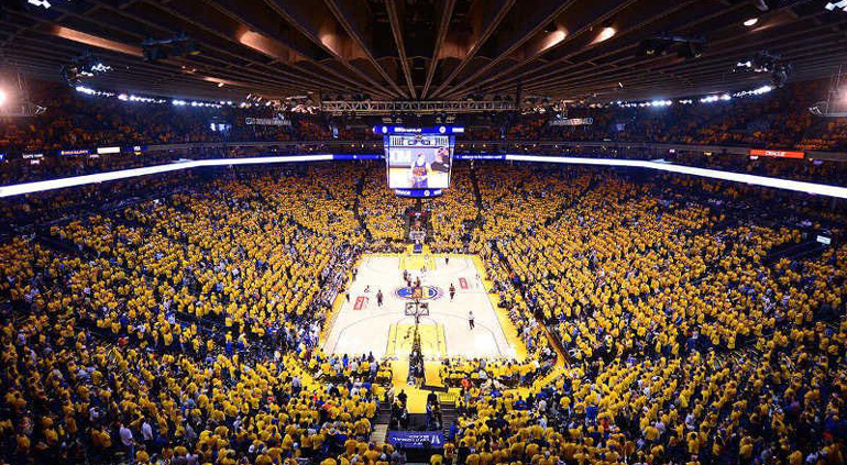 Oracle Arena © Visit Oackland
