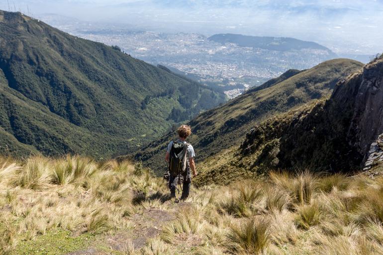 Falda del volcán Pichincha