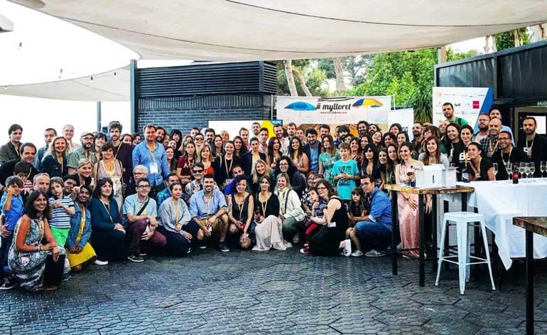 Foto oficial de los asistentes a #BCNTb5 en Lloret de Mar