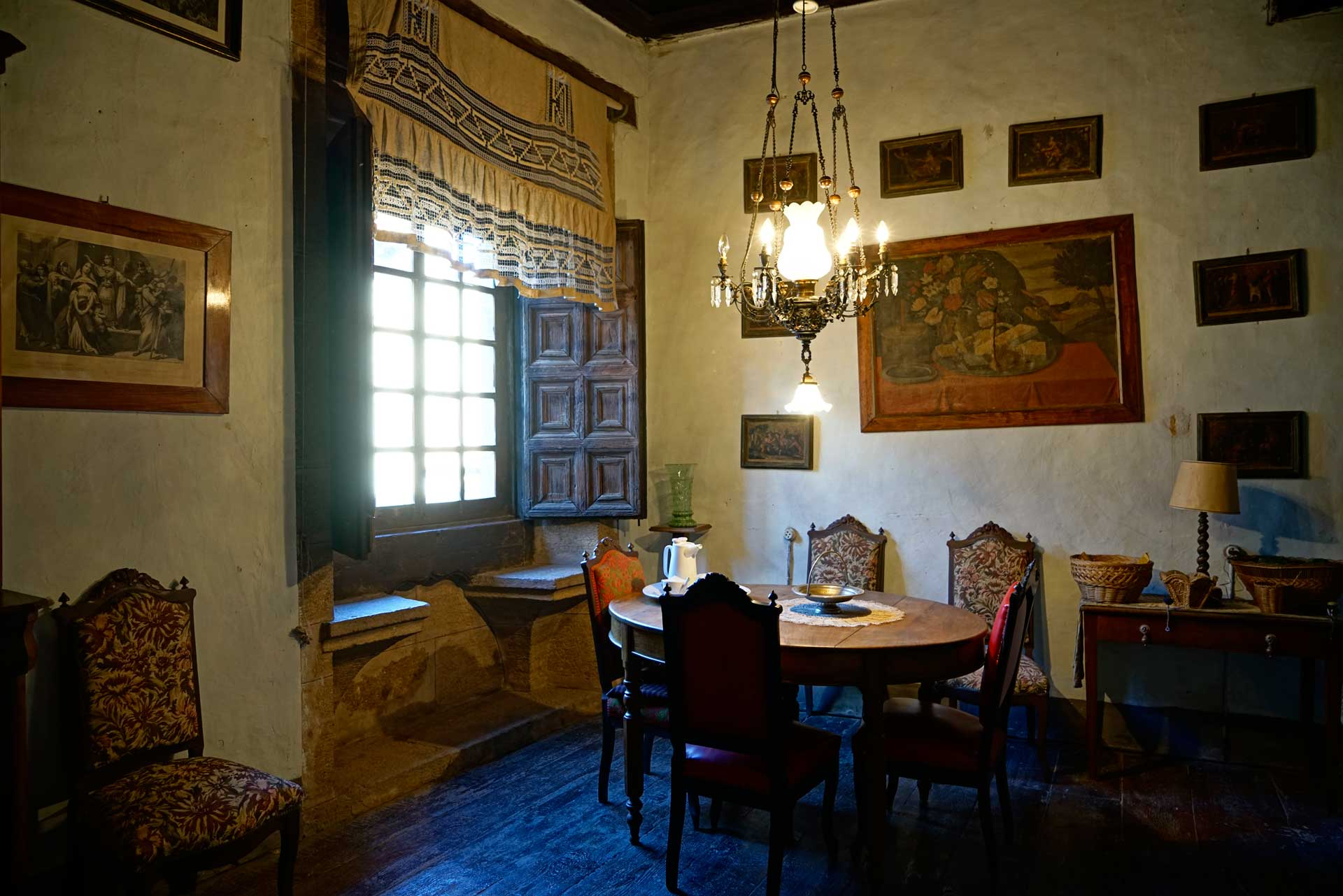 Interior de la casa Aliaga
