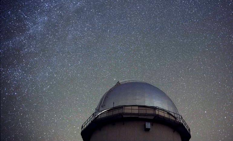Cielo estrellado en el Observatorio Astronómico de Javalambre © Fundación CEFCA / Javier Díez - Producciones