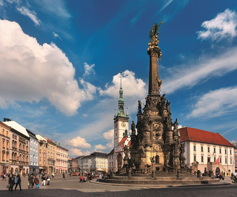 Columnata de la Santísima Trinidad de Olomouc © Libor Svacek