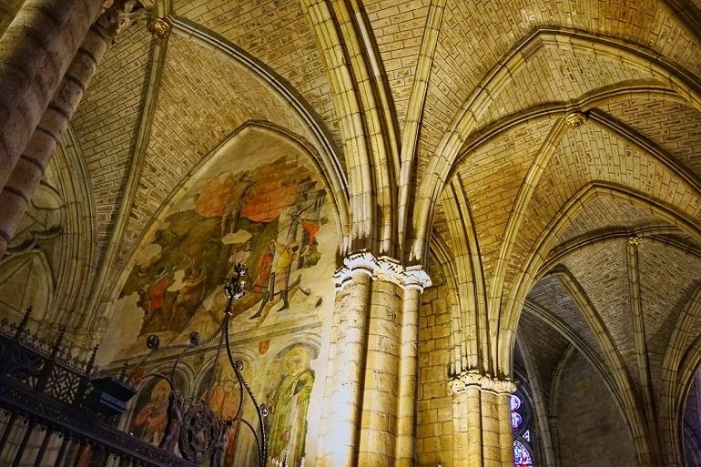 Las pinturas románicas de San Isidoro son impresionantes
