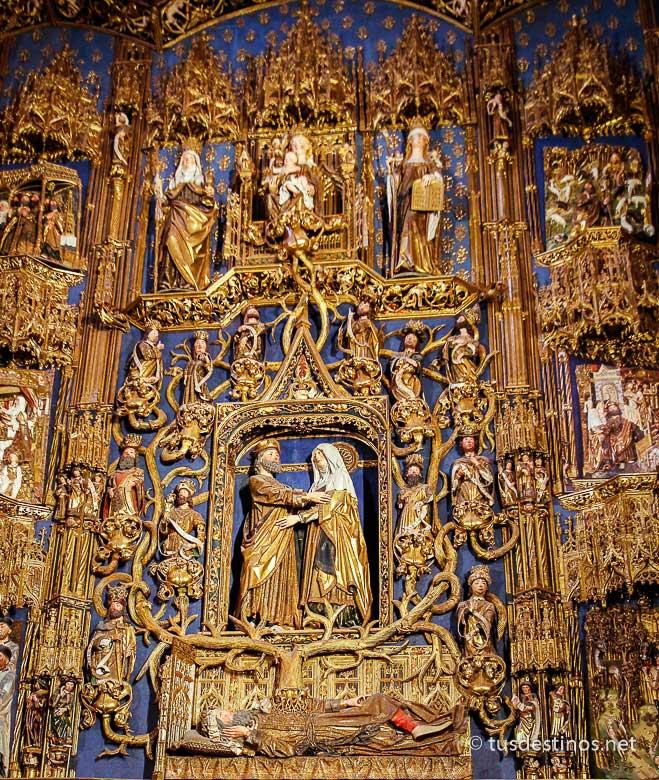 Retablo de la Capilla de Santa Ana de la Catedral de Burgos