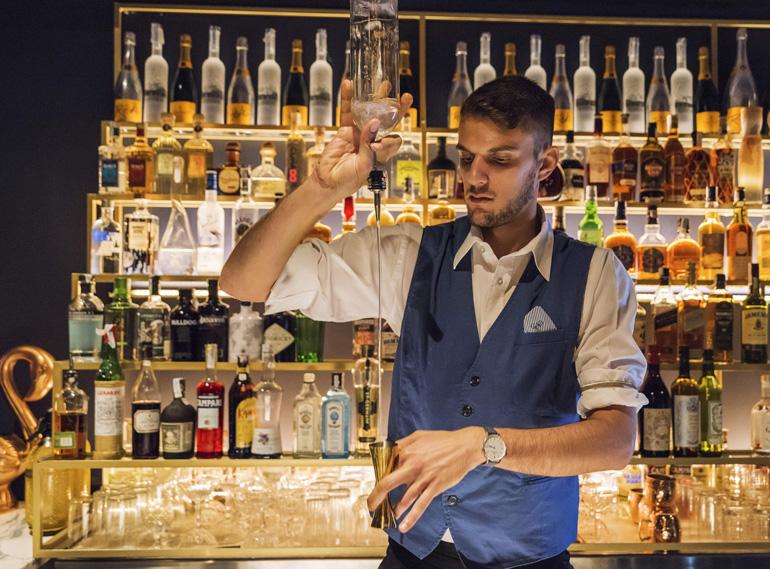 Marco Vian, bartender de La Perla