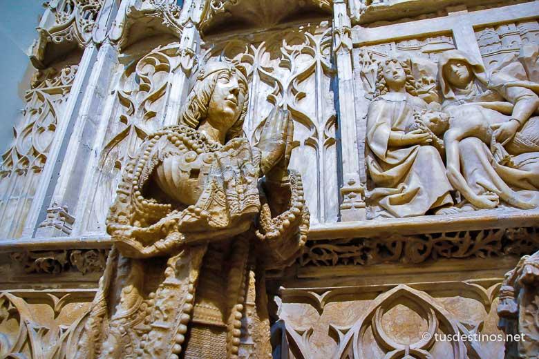 Sepulcro de Juan de Padilla de Gil de Siloé
