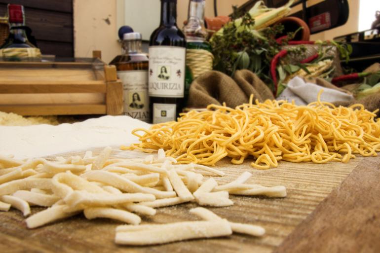 La pasta es el abanderado de la gastronomía italiana