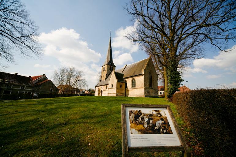 Iglesia de Sint-Anna-Pede © Luc Bohez