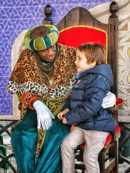 Los niños pueden entregar la carta a los Reyes Magos en el Parque de Atracciones de Madrid