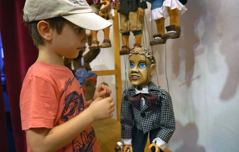 Puppets típicos checos
