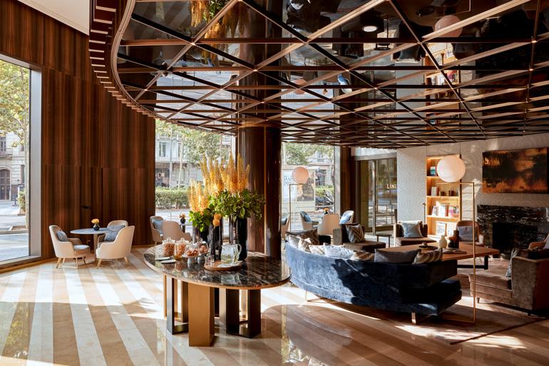Hall del hotel Almanac Barcelona