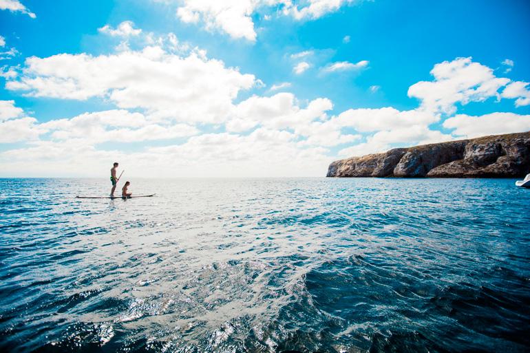 Las playas de Riviera Nayarit son espectaculares y perfectas para practicar deportes como el paddle surf