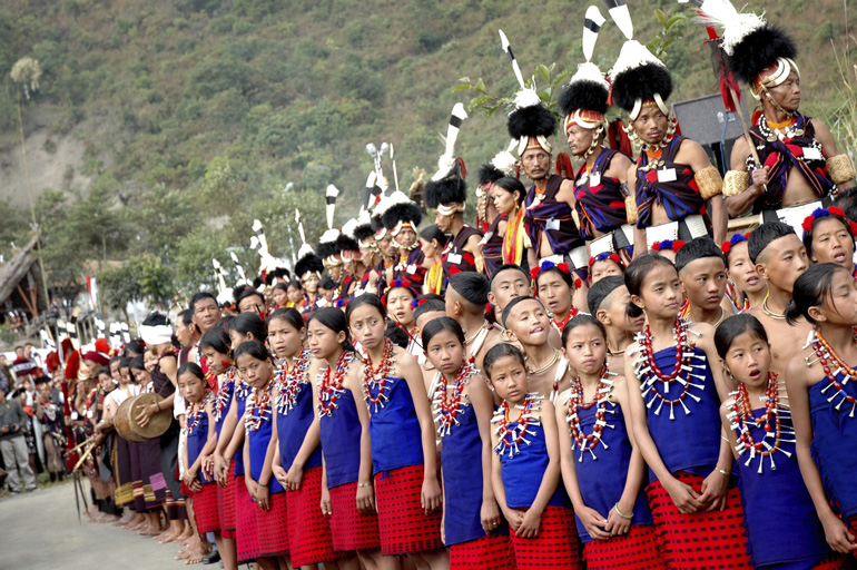 Hornbill Festival, Nagaland © Incredible India