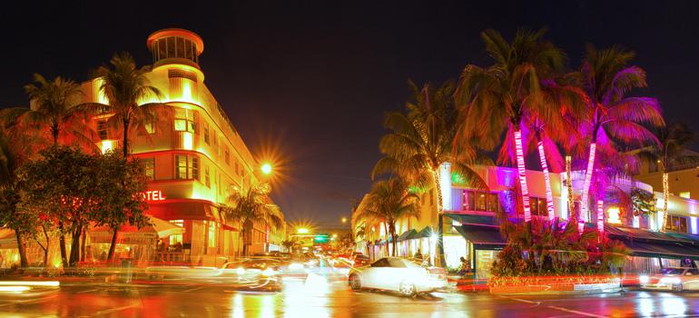 Vida nocturna en Miami