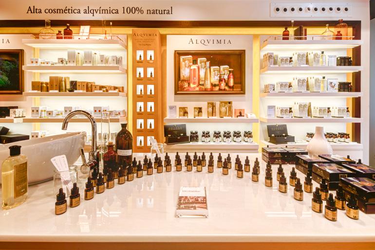Alqvimia Store & Spa Barcelona, Muntaner 327