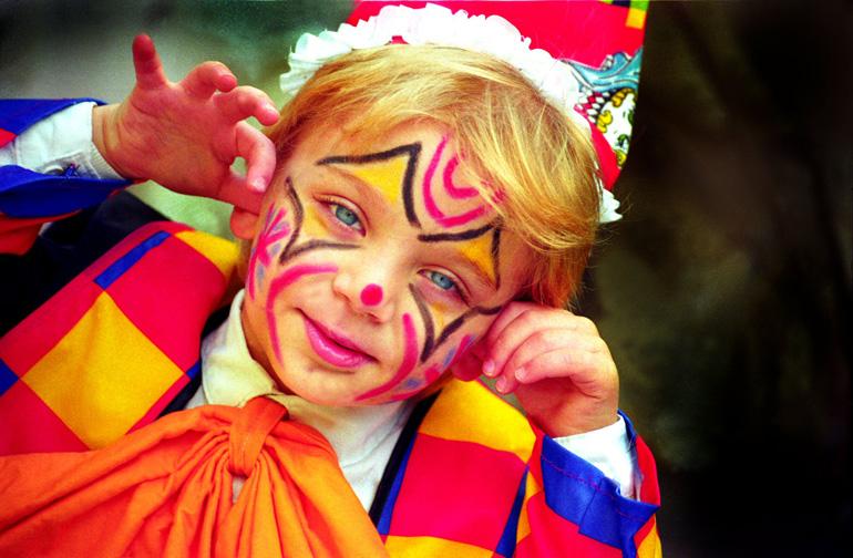 Los niños son los protagonistas del Carnaval en Malta