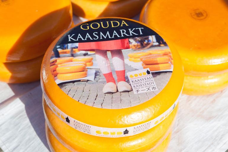 El queso Gouda es uno de los símbolos gastronómicos de Holanda