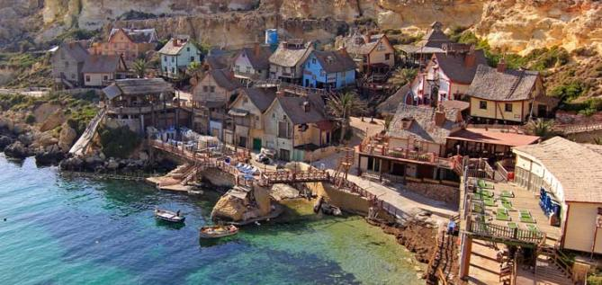 Popeye Village en Anchor Bay