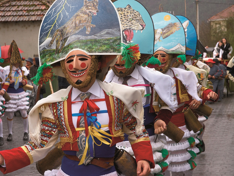 Piliqueiros del Carnaval de Laza