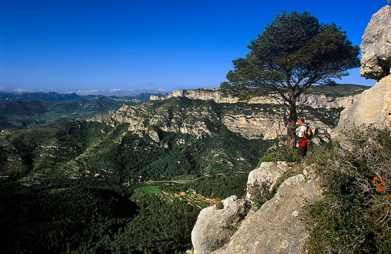 Crestas de la Seda, en la Serra de Llaberia
