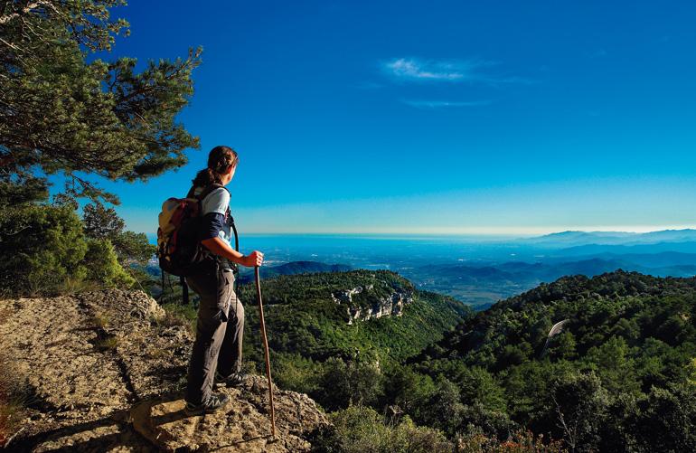 Panorámica del Baix Camp desde el Camino Reus-Prades © Rafael López-Monné