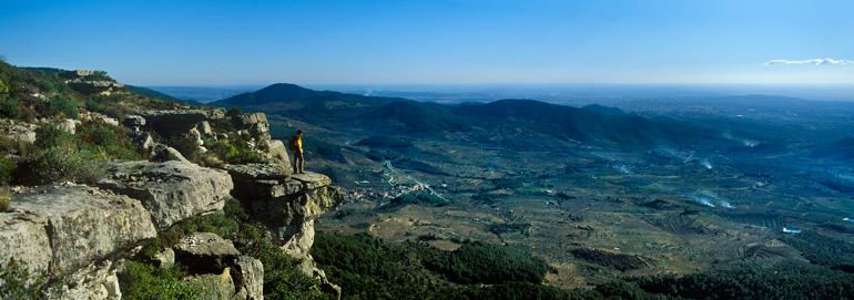 Sierra de la Mussara desde la Mola dels Quatre Termes © Rafael López-Monné