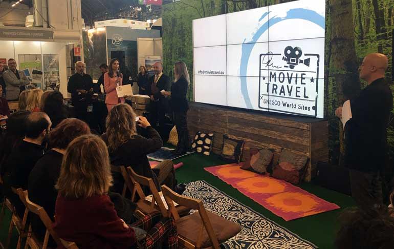 Presentación del proyecto MovieTravel en B-Travel