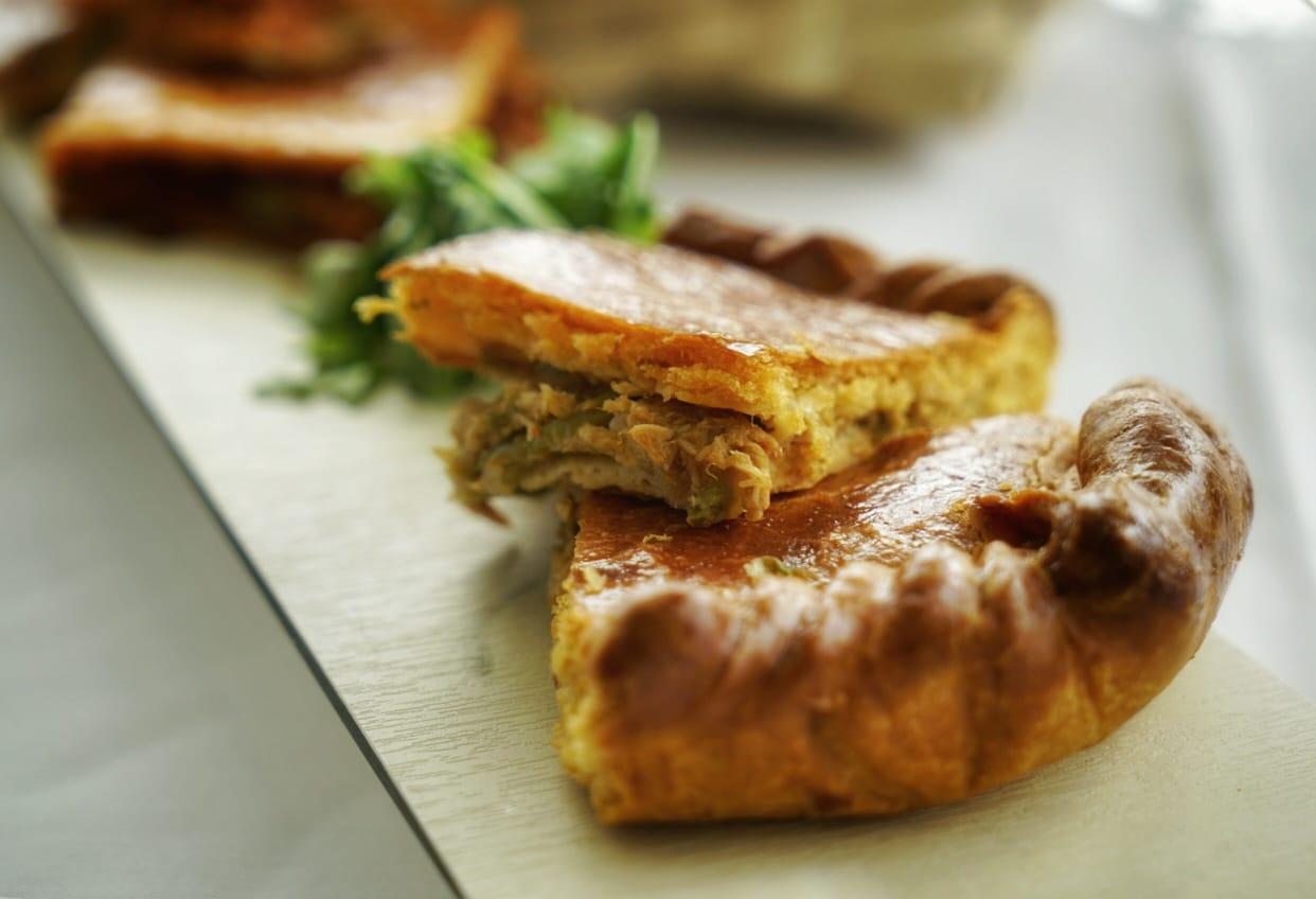La empanada es uno de los tesoros de la gastronomía gallega