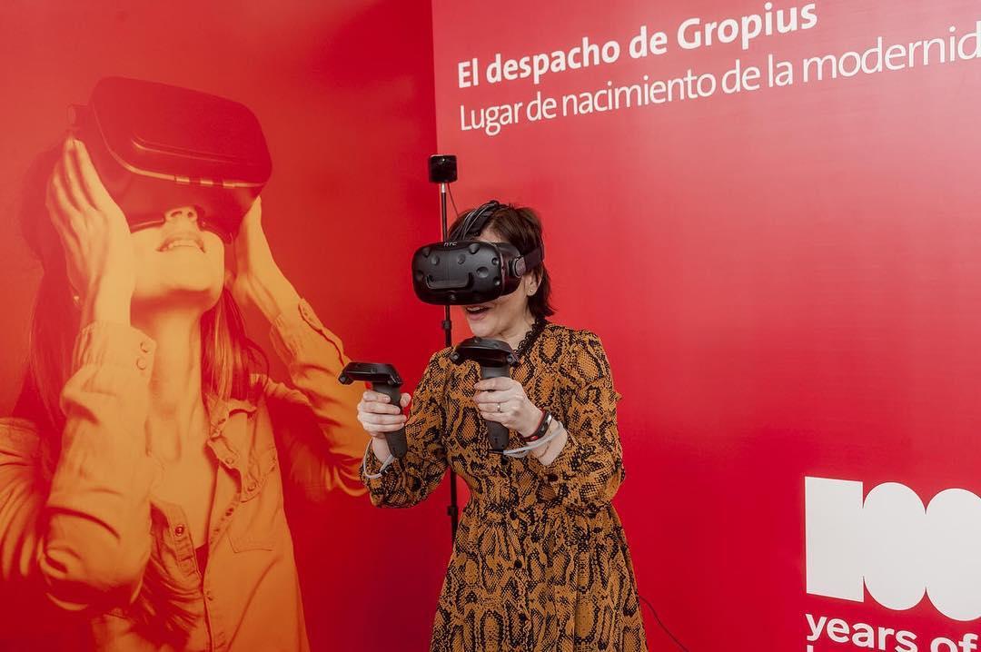 Proyecto de realidad virtual basado en el despacho de Walter Gropius