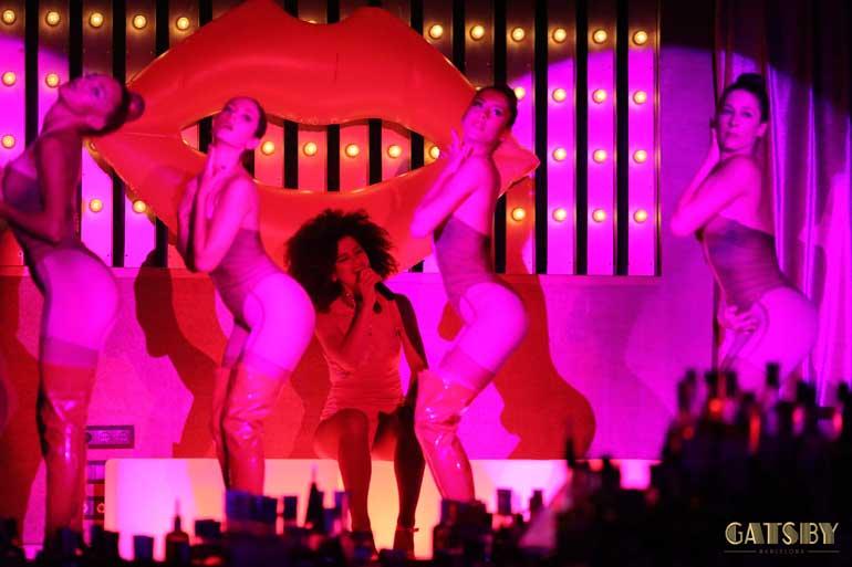 Dinner-show Gatsby ofrece un espectáculo elegante, moderno y divertido