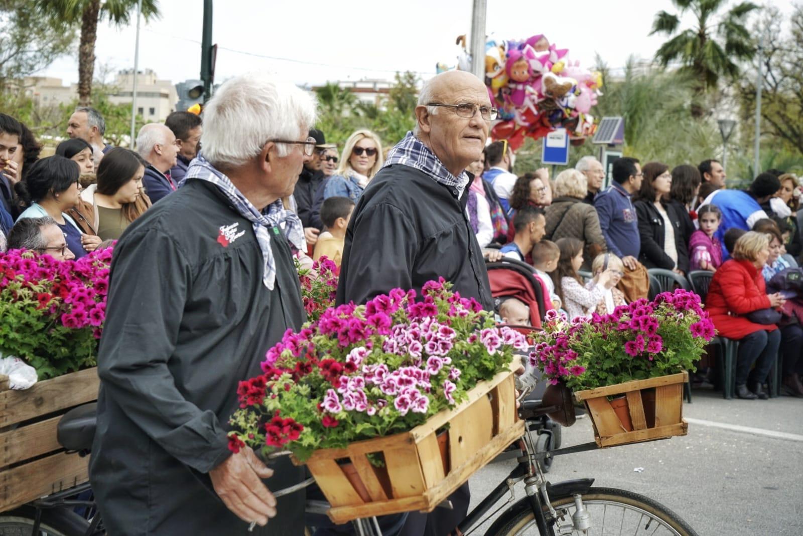 Las tradiciones de Murcia son las protagonistas del desfile del Bando de la Huerta