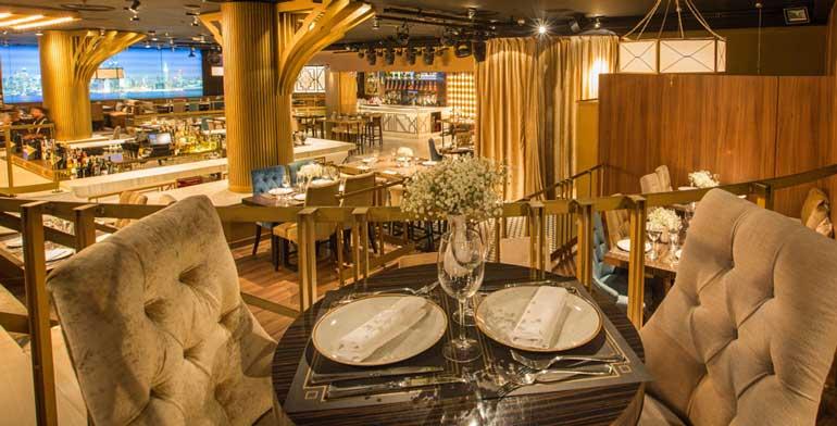 Gatsby es un restaurante de comida mediterránea con toques internacionales donde mariscos, carnes y una estupenda carta de vinos.