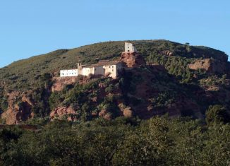 Ermita de la Mare de Déu de la Roca. Foto cedida por el Ayuntamiento de Mont-roig del Camp