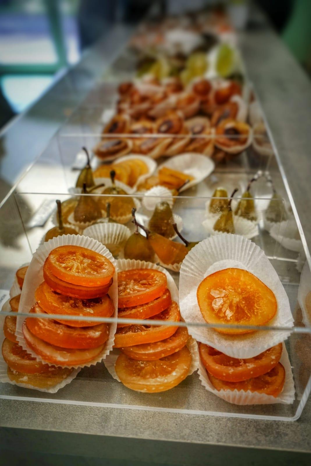 Fruta confitada de la Confiserie Saint Sylvestre