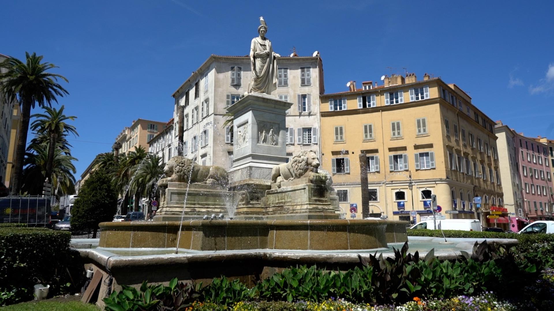 Ajaccio es la capital de Córcega