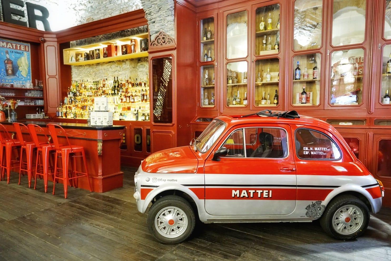 Etablissements Mattei, creadores del famoso aperitivo Cap Corse.