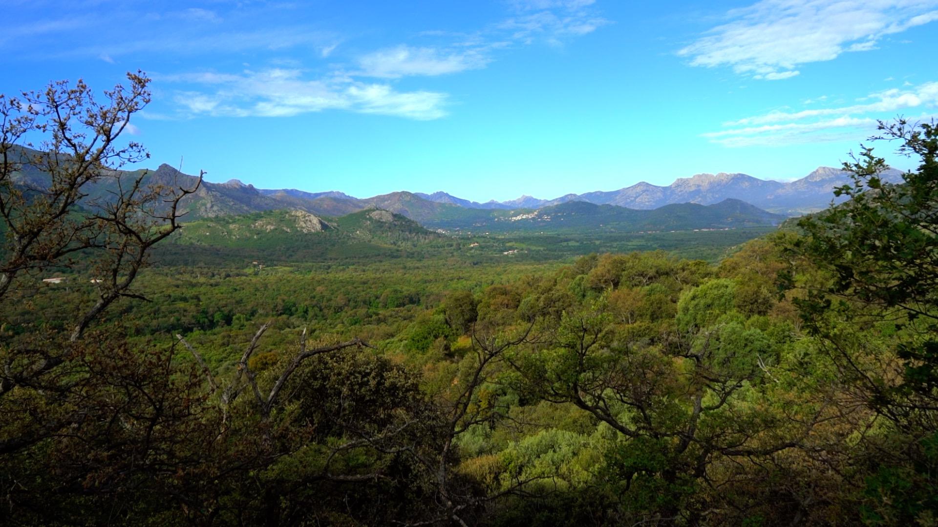 Paisaje de la región de La Balagne