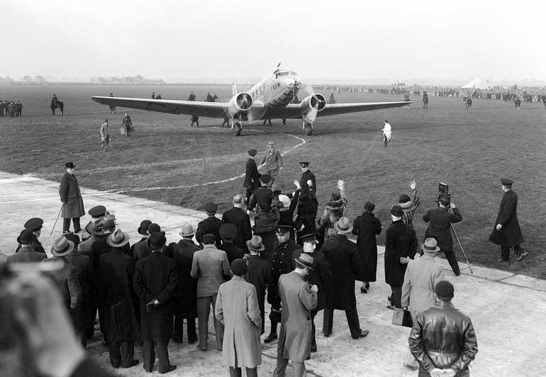 Imágenes históricas KLM