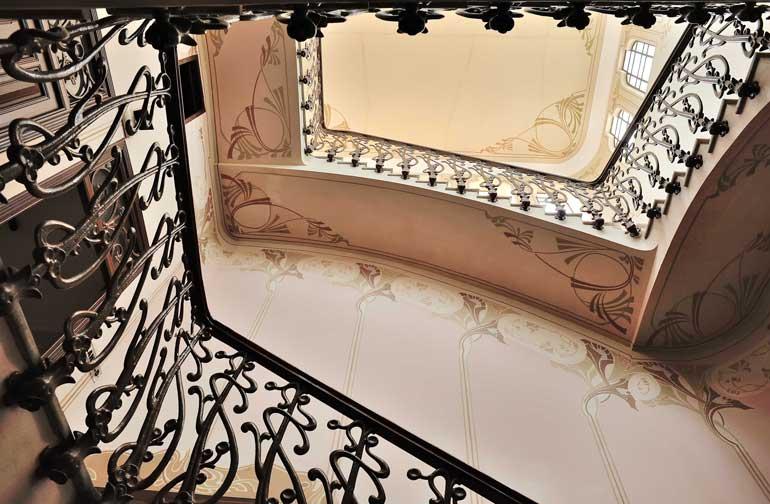 Escalera de Casa d'Escaló