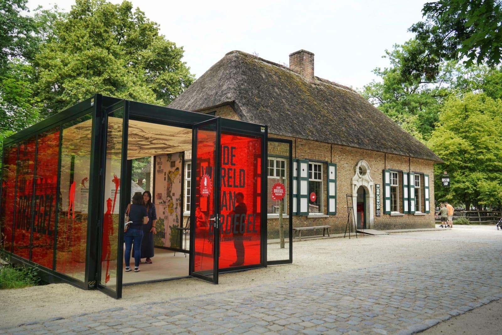 Exposición El Mundo de Bruegel en el Museo al Aire Libre de Bokrijk
