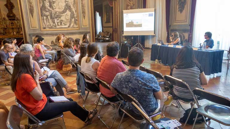 En el taller también participó la editora jefa de Cine & Video International, Carolina Mancini