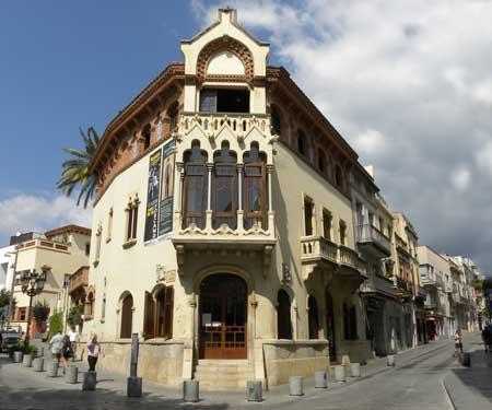 Casa Museo Lluís Domènech i Muntaner de Canet de Mar
